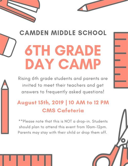 Camden Middle / Homepage