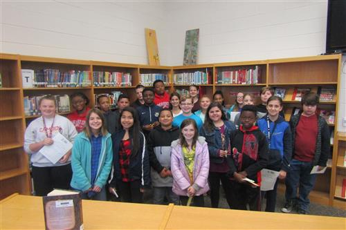 Camden Middle School Readers