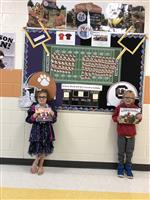 Read Your Way to the Big Game PreK-2nd Winners