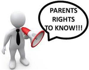 Parents and Guardians; Rights Notification