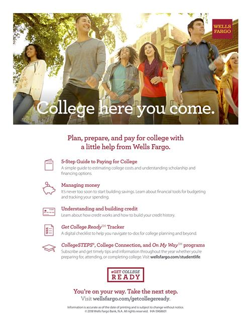 College help from Wells Fargo