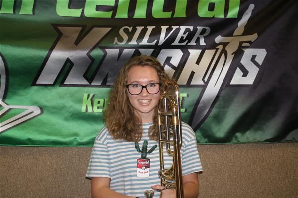 Carrie Eubanks Makes Region Band!