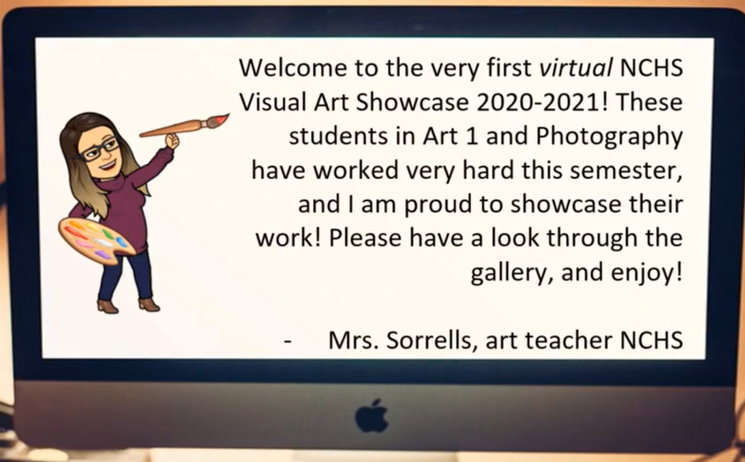 Virtual Art Showcase Video