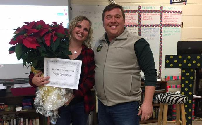 Lana Broughton 2018 Teacher of the Year!