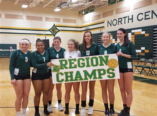 Lady Knights win Region Championship!