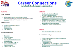 Career Connections Website