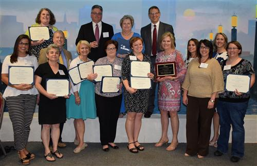 KCSD communications efforts recognized by state school PR association