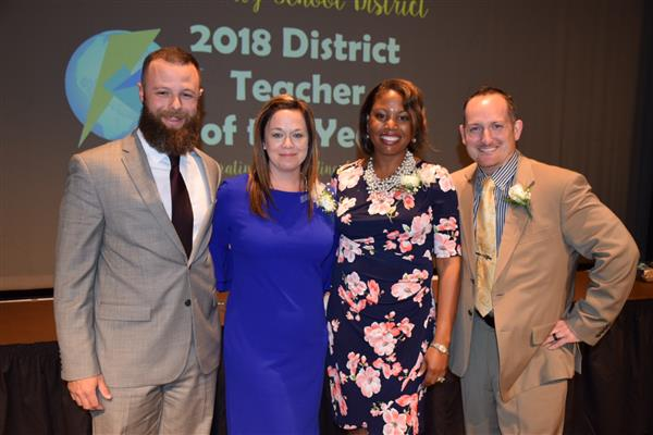 2018 Teacher of the Year Honorees