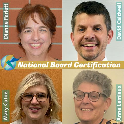 National Board Certified Teachers 2021