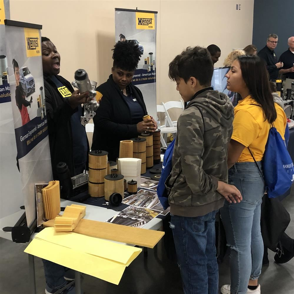 8th Grade Manufacturing Expo