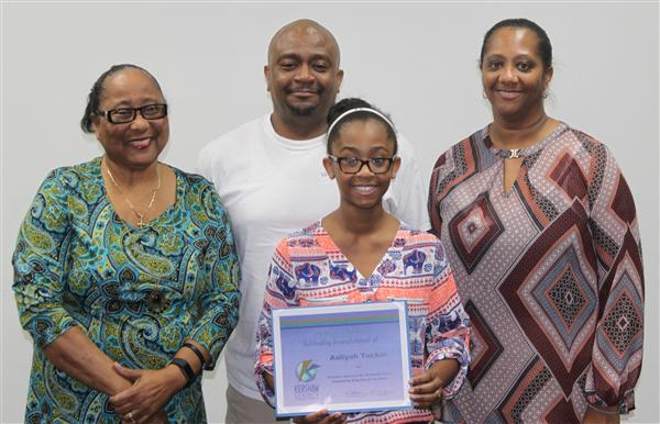 CMS student wins state NAACP essay contest