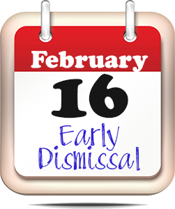 Feb. 16 to be early dismissal day for KCSD students