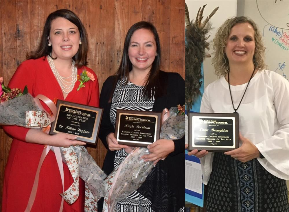 KCRC honors Beckham, Broughton and Hepfner at annual celebration ceremony