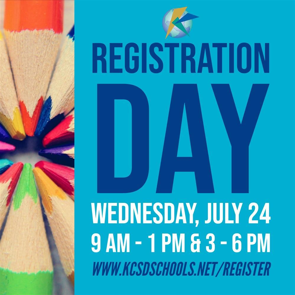 KCSD registration days July 24-25; online registration now open