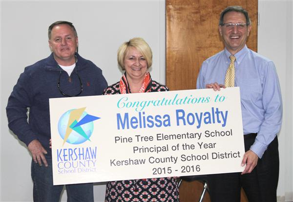 Melissa Royalty selected as 2016 KCSD Principal of the Year