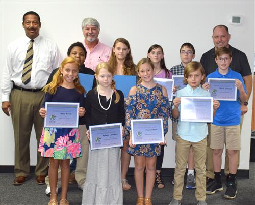 11 KCSD students honored for perfect scores on spring standardized tests