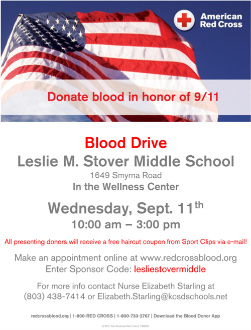 Stover Blood Drive