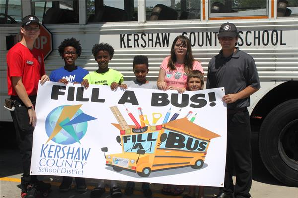 Fill A Bus with school supplies on Saturday