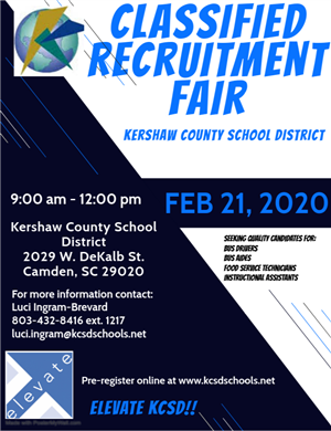 Classified Recruitment Fair 2020