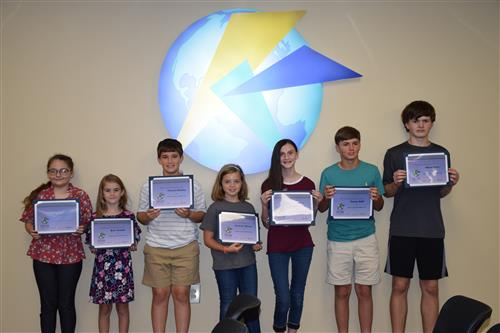 Eighteen Kershaw County School District students were recognized by the Kershaw County School Board