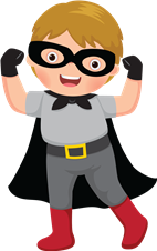 Kindergarten Super Hero (copyright ShutterStock - rights paid)