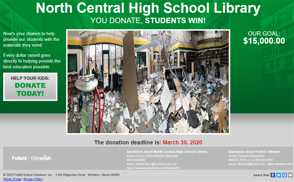 NCHS Titlewish Link