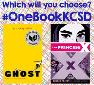 #OneBookKCSD - Which will you choose?