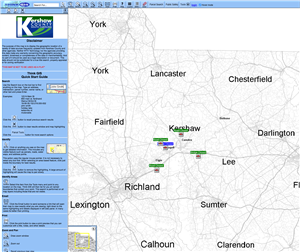 Kershaw County GIS Map