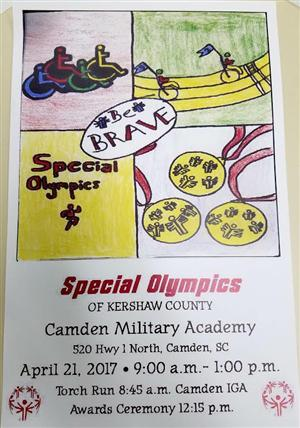 Special Olympics 2017 Poster