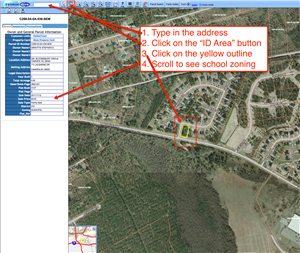 Kershaw County GIS Map - Directions